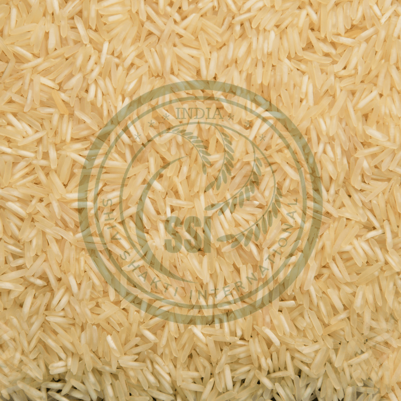 organic 1509 steam basmati rice